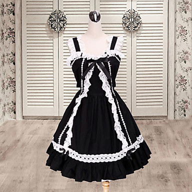 Gothic Lolita Księżniczka Damskie jsk / Jumper Skirt Cosplay Krótki rękaw