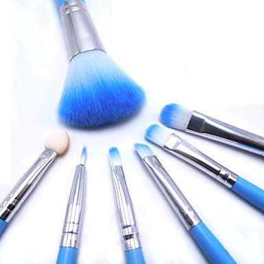 6pcs Makeup børster Profesjonell Rougebørste / Øyenskyggebørste / Leppebørste Syntetisk hår Bærbar / Reisen / Økovennlig Tre