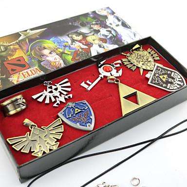 Бижутерия Вдохновлен The Legend of Zelda Косплей Аниме/Видеоигры Косплэй аксессуары Ожерелья Броши Сплав Муж. Жен.