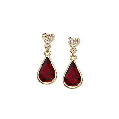 Women's 1set - Regular Stylish Classic Gold Red Green Blue Others Earrings For Party Special Occasion Party / Evening