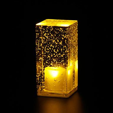 1pc luz de noche led decorativa cristal tiffany - Iluminacion led decorativa ...