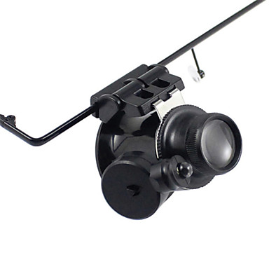 Monocular Magnifiers/Magnifier Glasses High Definition LED Weather Resistant Fogproof Generic Wide Angle Headset/Eyewear 20 25 Plastic