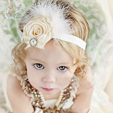 Mädchen Haarzubehör Ganzjährig Baumwolle Stirnbänder - Weiß