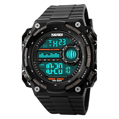 SKMEI Men's Digital Watch Wrist watch Sport Watch Digital Alarm Calendar / date / day Chronograph Water Resistant / Water Proof Sport