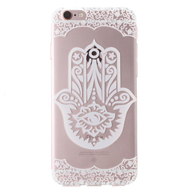 Case For Apple iPhone 8 iPhone 8 Plus iPhone 6 iPhone 6 Plus iPhone 7 Plus iPhone 7 Transparent Pattern Back Cover Flower Soft TPU for