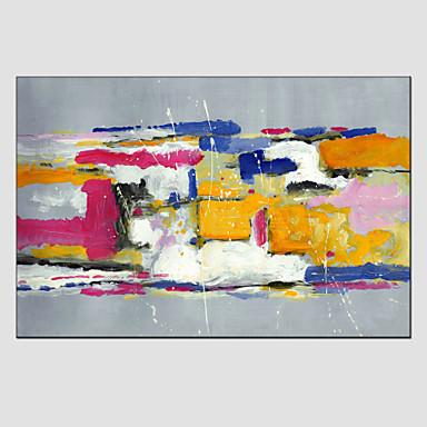 Maalattu AbstraktiModerni / European Style 1 paneeli Kanvas Hang-Painted öljymaalaus For Kodinsisustus