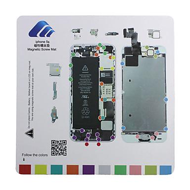 iPhone 5S Magnetic Screw Chart Mat Repair Guide Pad Tool