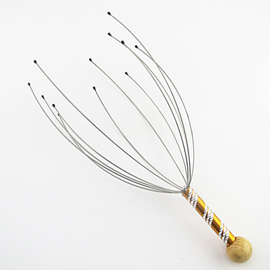 Head Massager Manual Relieve general fatigue Metal Steel