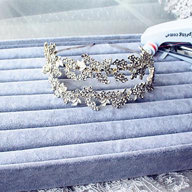 rhinestone alloy headbands headpiece klassinen naisellinen tyyli