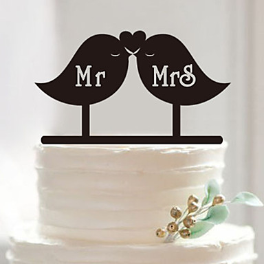 Event Party Supplies Cake Accessory Fondant Cake Decorating Tools Personalized Customized Wedding Acrylic Cake Topper