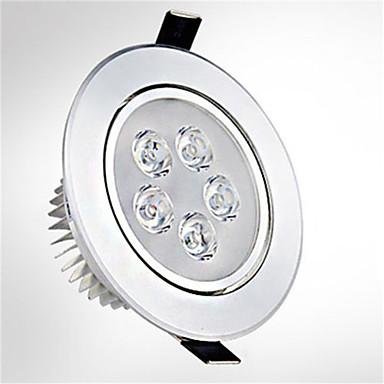1pc led-upotetut valot 5 suurteho led 550lm lämmin / kylmä valkoinen ac85-265v
