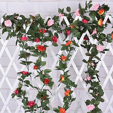 haara Silkki Ruusut Seinäkukka Keinotekoinen Flowers
