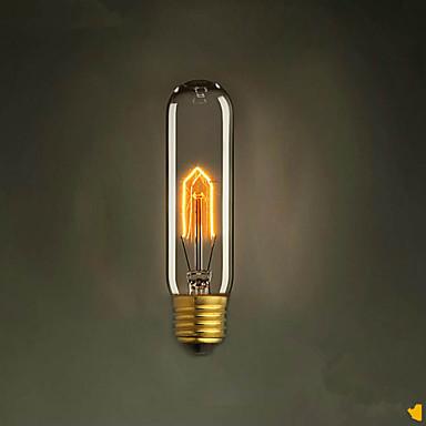 E27 25W t10 kémcsőben Edison retro dekoratív izzó