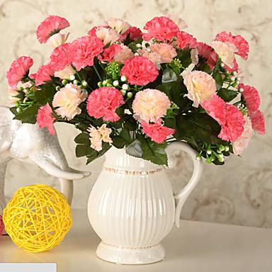 İpek / Plastik Karanfil Yapay Çiçekler