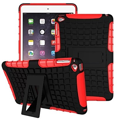 Case For iPad Air Shockproof with Stand Back Cover Armor PC for iPad Air