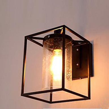 American Country Personality Loft Nordic Contracted Style Raindrop Bubble Glass Wall Lamp