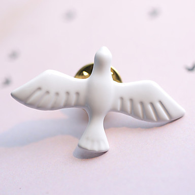Women's - Fashion Brooch White For Daily / Casual