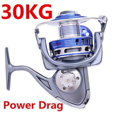 Fishing Reel Spinning Reels 4.7:1 9 Ball Bearings Exchangable Sea Fishing Spinning Jigging Fishing Freshwater Fishing Bass Fishing