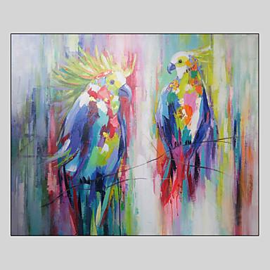 Hang-Painted öljymaalaus Maalattu - Pop Art Moderni Kangas