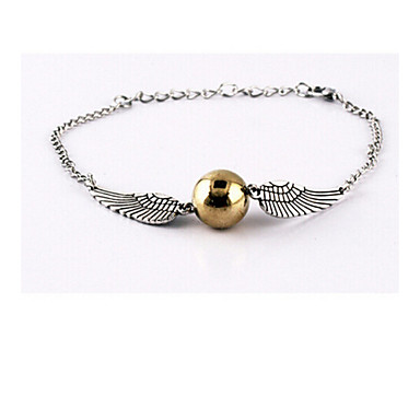 Bracelet - Wings Charm, Chain Bracelet Silver For Party / Daily / Casual