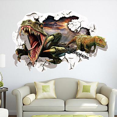 Dekorative Mur Klistermærker - 3D Mur Klistremerker Landskap Stue / Soverom / Spisestue