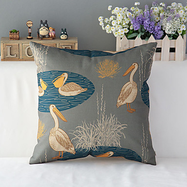 Home Furnishing Decoration Simple And Hold Cotton Pillowcase Throw Pillow With No Insert