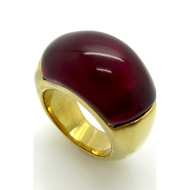 voordelige Herensieraden-Heren Ring Zwart Fuchsia Navy Titanium Staal Geometrische vorm Gepersonaliseerde Meetkundig Vintage Feest Speciale gelegenheden Sieraden