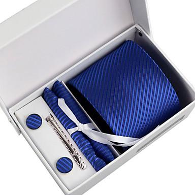 férfi párt / esti üzleti nyakkendő 5 darab egy szett doboz (8cm)