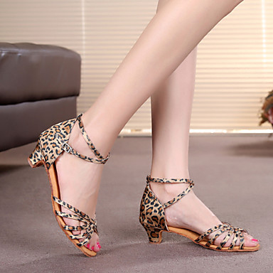 1cda169bc أحذية الرقص ( قماش نمري ) - للمرأة / للأطفال - لاتيني / نوع من السلطة