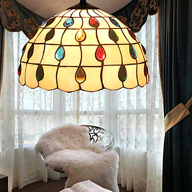 Rustic/Lodge Vintage Lantern Traditional/Classic Retro Modern/Contemporary LED Pendant Light Ambient Light For Living Room Bedroom