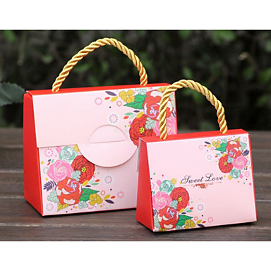 Creative Card Paper Favor Holder With Gift Boxes-12 Wedding Favors