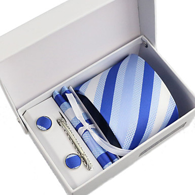Men's Party/Evening Business Necktie 5 Pieces a Set with Box(8CM)