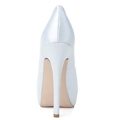 à Confort Talon Aiguille Printemps Chaussures Chaussures Mariage Satin amp; Ivoire Evénement Bleu Soirée Femme Talons Eté 04640779 Rouge 8IfYqgqxw