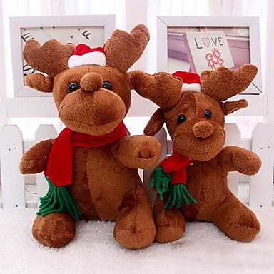 mikulás Milu szarvas plüss játékokat karácsonyi szarvas baba a karácsonyi