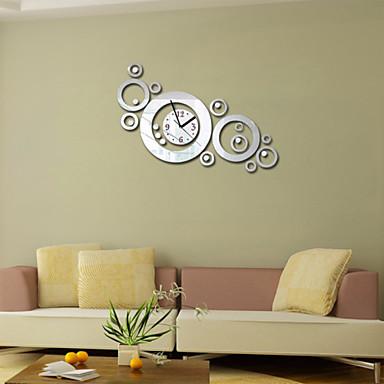 Quadrada Moderno/Contemporâneo Relógio de parede , Família Outros 17.7*19.7