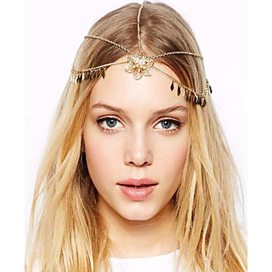 Alloy Head Chain 1 Wedding / Special Occasion Headpiece