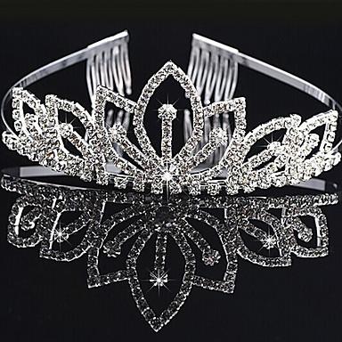 Women's Elegant & Luxurious Imitation Diamond / Alloy Crown / Tiaras / Tiaras
