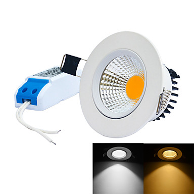 6000-6500/3000-3200lm LED Recessed Lights 1 LED Beads Integrate LED Dimmable Warm White Cold White 85-265V