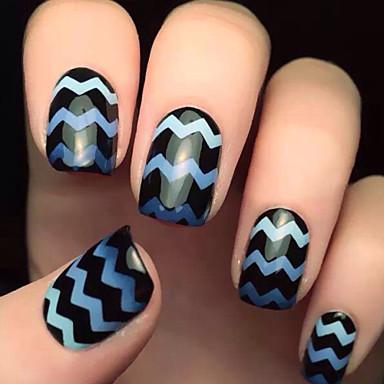 voordelige Nagelgereedschap & Apparatuur-5x82pcs verschillende maten professionele maken patroon nail art gereedschap