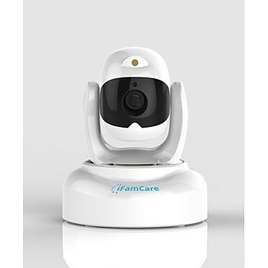 ifamcare® helmet 2.0 mp ip kamera ir-cut 32 günlük gece hareket algılama çift akışı uzaktan erişim wi-fi tak ve çalıştır