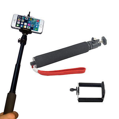 Clip Hand Grips/Finger Grooves Monopod Tripod Mount / Holder Adjustable All in One Convenient For Action Camera All Gopro Gopro 5 Gopro 4