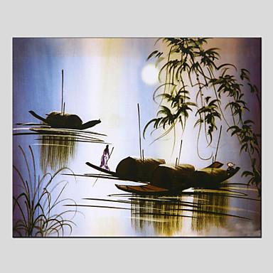 Maalattu Maisema Horizontal, European Style Moderni Kangas Hang-Painted öljymaalaus Kodinsisustus 1 paneeli