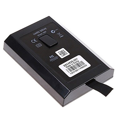 320GB HDD intern harddisk disk kit for Microsoft Xbox 360 slim& xbox 360 e konsoll spill