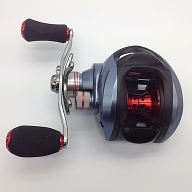 Baitcasting Reels 6.3:1none Gear Ratio+10none Ball Bearings Left-handed Bait Casting - DW1000 Left