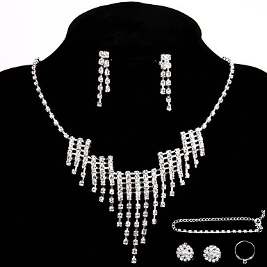Women's Others Jewelry Set Rings / Earrings / Necklace - Regular For Wedding / Party / Special Occasion