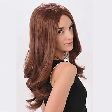 fashional női szuper modell stílus szexi lolita napi göndör, hullámos szórakozóhely party haj teljes paróka hosszú barna színű eladó.