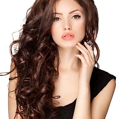 Remy-hår Helblonde Blonde Forside Parykk Krop Bølge 130% 150% 180% tetthet 100 % håndknyttet Afroamerikansk parykk Naturlig hårlinje Kort