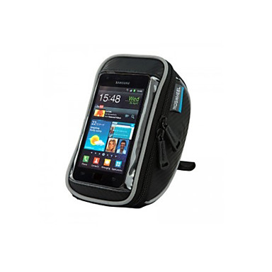 ROSWHEEL Cell Phone Bag / Bike Handlebar Bag 4.8 inch Touch Screen, Waterproof Cycling for Samsung Galaxy S4 / Other Similar Size Phones