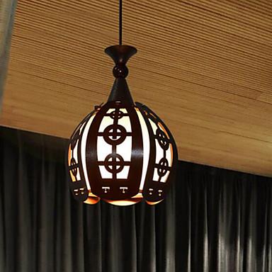 Rústico/Campestre Vintage Retro Lanterna Regional Moderno/Contemporâneo Tradicional/Clássico LED Luzes Pingente Luz Descendente Para Sala