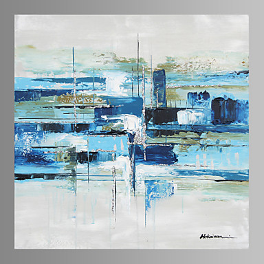 Oil Painting Hand Painted - Abstract Classic Canvas